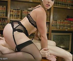 Ts stefani special is punished by hot milf librarian mistress ka - part 2139