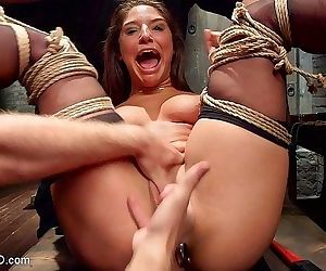 Abella danger is bound for anal sub training with cock fucking b - part 1942
