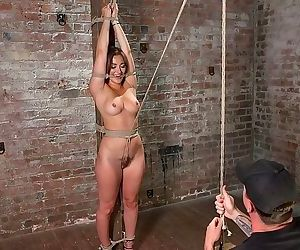 Dani daniels in brutal bondage is made to cum uncontrollably by - part 1771