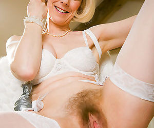 Blonde hazel struts her 52 year old stuff - part 2425