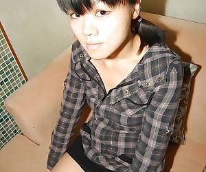 Midori Kimishima is a cute asian whore that wants to fuck badly