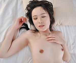 Subsistence asian MILF gives a nooky and gets will not hear of trimmed pussy boned-up - part 2