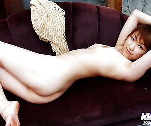 Short-haired asian unskilful uncovering her heady curves - part 2