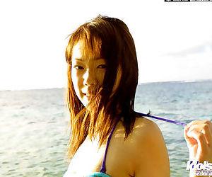 Adorable Asian Pet Hikari exposes will not hear of beamy perky special outdoors