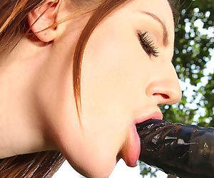 Bound babe Samantha Bentley anally and vaginally fucked by sex machine