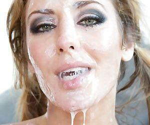 Blonde slut Sheena Shaw posing naked outdoors- sucking balls and riding BBC - part 2