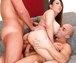 Asian hardcore threesome along big ass Asian MILF in heats Tigerr B - part 2