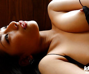 Sweet asian spoil Ran Asakawa showcasing will not hear of minuscule tits with hard nipples - fastening 2
