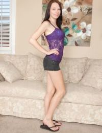 Alluring teen Chloe Love gets naked and masturbates like never before