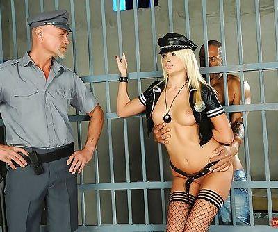 Seductive blonde MILF Ivana Sugar is into hardcore groupsex