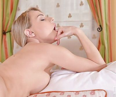 Cute and nasty pussy Chloe masturbating with lots of toys - part 2