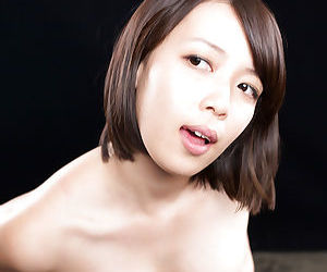 Japanese female licking semen form fingers after titty fuck and handjob - part 2