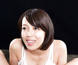 Japanese female licking semen form fingers meet approval titty charge from together with handjob
