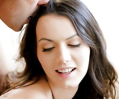 European pornstar Sarah Highlight taking hardcore fucking of shaved pussy - part 2