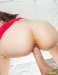 Big cock of an handsome boy is drilling tight cunt of Ava Taylor - part 2