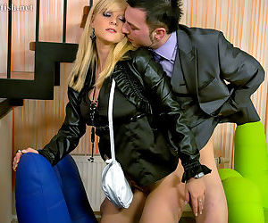 European teen Marry Queen is into hardcore fully clothed twatting