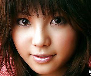 Foxy asian pet Azumi Harusaki uncovering her sweet bosoms - decoration 2