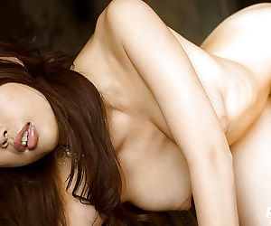 Hot asian bombshell Risa Kasumi showcasing her gorgeous curves - part 2