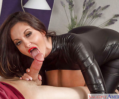 European milf with big honkers Mia Ryder devours tasty dooflicker
