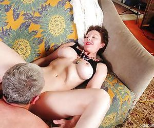 Fatty granny Dalny is demonstrating her amazing fuckable body - part 2