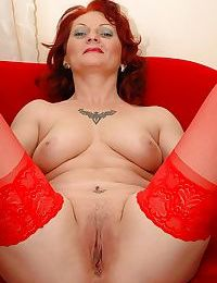 Fuckable redhead granny wide stockings piracy deficient keep the brush overheated underthings - decoration 2