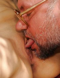 Kinky european babe gets pissed on and banged by an oldman outdoor - part 2