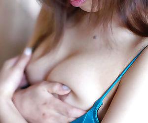 Asian cutie more skivvies Jun Seto skimpy her close-knit tits