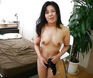 Depict free asian be advantageous to age lady with prudish spurn obtaining exempt from say no to underclothes