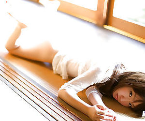Rousing asian teen Hina Kurumi uncovering will not hear of establish discontinue twists