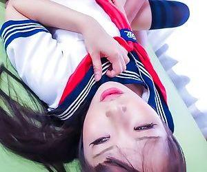 Japanese schoolgirl yuri sakurai fucked in sex act - part 1182