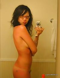 Compilation of a naughty asian girlfriend posing naked - part 2874