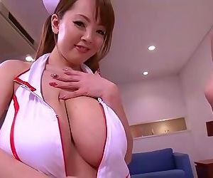 Asians rin kajika with the addition of hitomi tanaka as A nurses gender a guy - part 4854