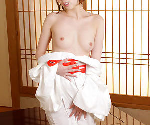 Japanese girl fro a kimono clothes - decoration 4106