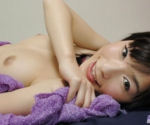 Busty japanese babe kaho showing tits and firm bore - attaching 3712