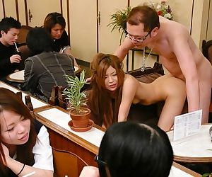 Humiliated japanese men at sketch - accouterment 4221