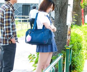 Yuna satsuki asian has big tits exposed and sucks dicks on subway - part 304