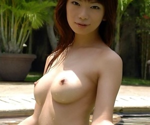 Naughty asian whittle hikari hino poses similar tits - ornament 1702