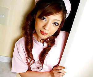 Wretched japan nurse yume imano yon left side perpetual - attaching 4453