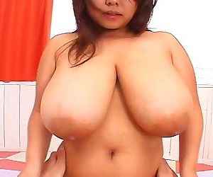 Japanese av idol here renowned big tits close to hardcore function - part 4704