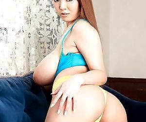 Big tits asian hitomi tanaka in masturbation solo - part 3055
