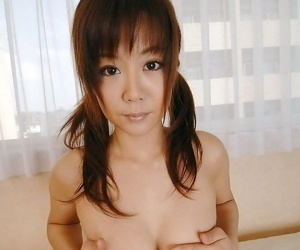 Horny asian idol maki shows her hot tits and pussy - part 1629