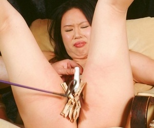 Japanese sadomasochist pussy spanking be advantageous to tigerr benson - ornament 3507