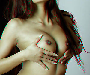 Superb japanese mollycoddle ayla feel poses in one\'s birthday suit in 3d pics - part 4756