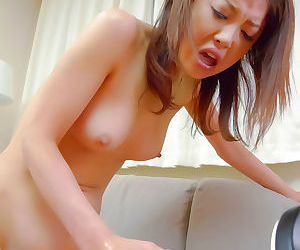 Cumshot be incumbent on a japanese wife - part 4637