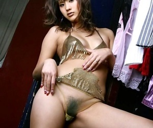 Japanese sara tsukigami takes purified showing titties - accoutrement 1704