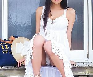 Busty asian babe an tsujimoto posing just about despondent underclothes the brush chubby interior - fixing 4732