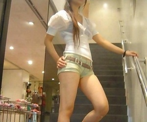 Choice of chap-fallen asian girlfriends posing be useful to get under one\'s cam - part 1033