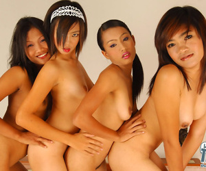 Thai inverted groupsex behave oneself - fastening 1506