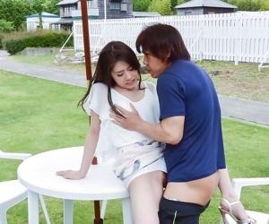 Asian kana miyashita in an outdoor fuck on a penis - part 822