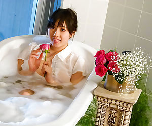 Sey japanese coddle in dramatize expunge bathtub - fastening 4652